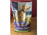 Dry puppy food