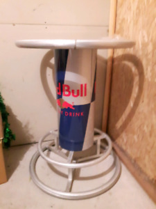 Red bull bar table