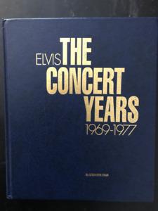 Livre: Elvis - The Concert Years (1969-1977) RARE...