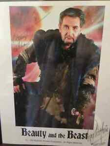 Autograph: Roy Dotrice, of Beauty and the Beast
