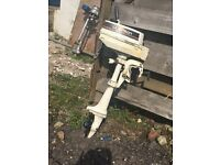 Johnston 2hp outboard engine