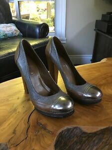 Multi Material Leather BCBG Shoes