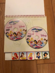 Disney fun to draw activity book with DVDs