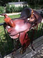 Stockman's Stall Western Saddle