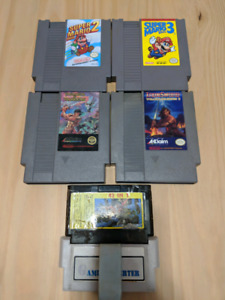 NES and N64 Games for sale