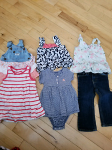 Size 18-24m girl clothes