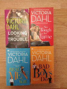 Victoria Dahl Books softcover $1 each or $3 for all