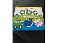 ABC floor jigsaw