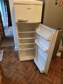 Retro Cream Fridge Freezer by Servis