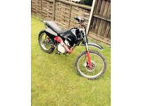 Suzuki 100cc engine in Skyteam frame