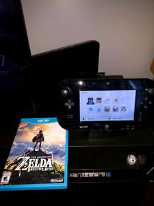 Wii U + Zelda Breath of the wild
