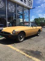 Mgb 1974 cabriolet