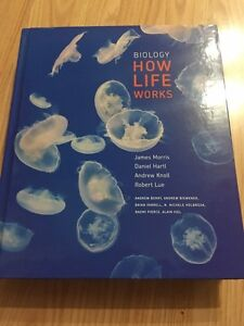 Biology How life works textbook