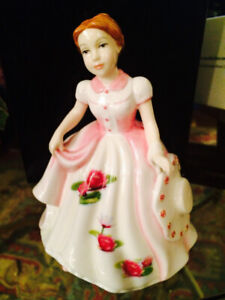 Royal Doulton, Pretty Ladies, Lady of the Month - July