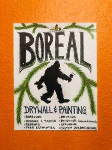 *** BOREAL DRYWALL AND CUSTOM PAINTING ***