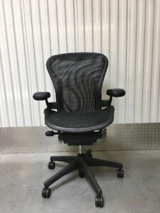 Herman Miller Aeron office chairs size B
