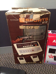 LLOYDS TV SPORTS 812 1970S GAME COMPLETE IN BOX RARE A MUST HAVE