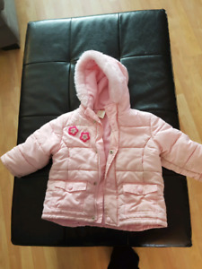 18 m to 24 m girls winter jacket