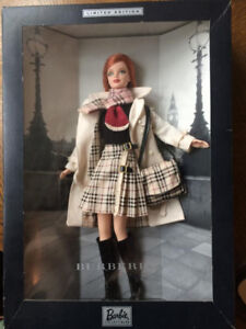 Burberry Barbie Limited Edition Collectible