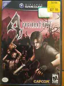 Resident Evil 4 - Game Cube mint condition 25$