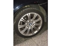 BMW E60 18inch msport mv2 alloy wheels alloys