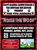 4th annual RAISE THE WOOF