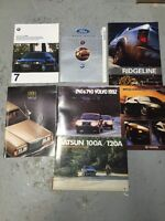 Collection de + de 3000 Brochure Automobile Aubaine