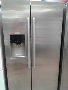 FRIDGE ELECTROLUX SIDE BY SIDE STAINLESS