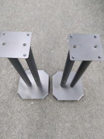 Two Pairs of Speaker Stands