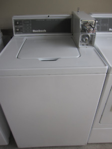 Coin operated huebsch washer