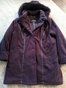 Women's winter coat- warm size xl