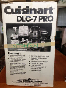 CUISINART FOOD PROCESSOR NEW
