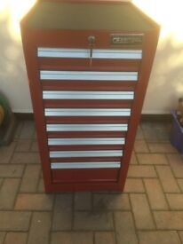 Britool side cabinet. Like new. Will hang on left or right side of tool box. Hardly used.