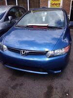 Honda civic coupe 2006 en excellent état!!!