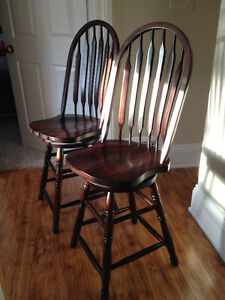 Beautiful Counter Height Chairs Cobourg $140 OBO