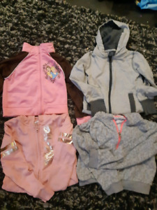 Size 4t jackets ....all 4 for $10