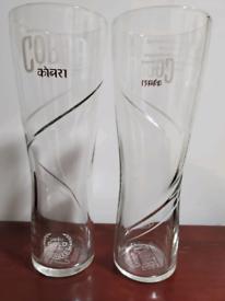 6x Tall cobra glasses