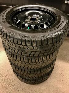 P195 65 15 Pirelli Winter Tires on Rims