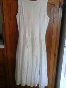 New Price - 20.00-white sun dress can be worn 2 styles
