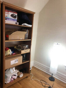 Large 5-shelf Bookshelf for sale