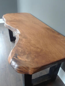 Live Edge and Reclaimed Wood Tables, Desks, Beds SALE