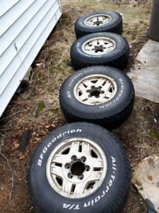 Toyota truck wheels and tires