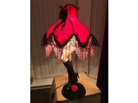 Burlesque - Moulin Rouge Style Lamp