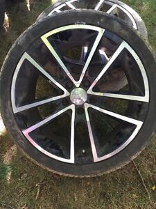 """18"""" Fast Rims and Tires For Sale"""