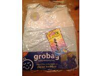 Blue gingham baby girl or boy original Grobag upto 6 Months-from 10Ib Bargain!