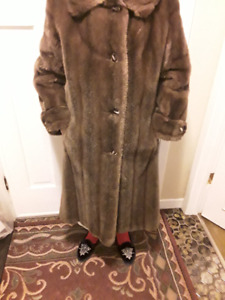 Full-length 'Faux Fur' Coat