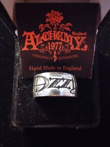 Brand New Pewter Alchemy Gothic Band Rings! Various Artists
