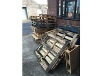 Free pallets to collect today