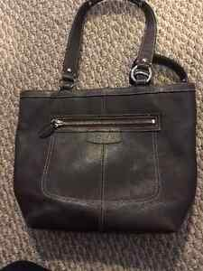Coach Bag - Brown Leather