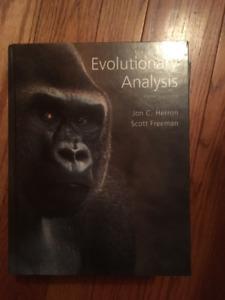 Evolutionary Analysis Fifth Edition Jon C. Herron Scott Freeman